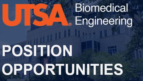 Job Opportunities for Biomedical Engineering Dept.