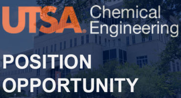Postion Available - Chemical Engineering