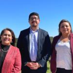 Left to right: Dr. Araceli Ortiz, Dr. Alex Mejia, Dr. Karina Vielma